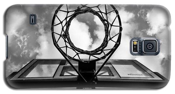 Sky Hoop Basketball Time Galaxy S5 Case