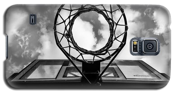 Sky Hoop Basketball Time Galaxy S5 Case