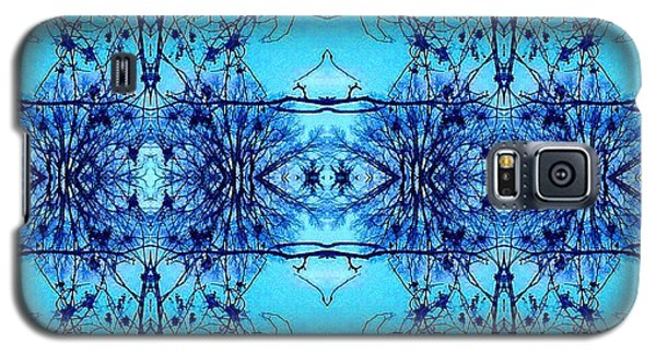 Galaxy S5 Case featuring the photograph Sky Lace Abstract Photo by Marianne Dow