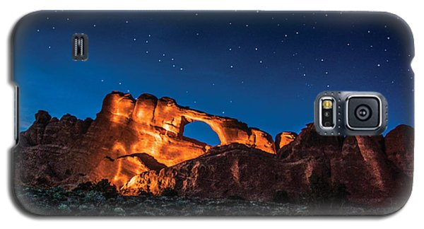 Sky Line Light Galaxy S5 Case by Daniel Hebard