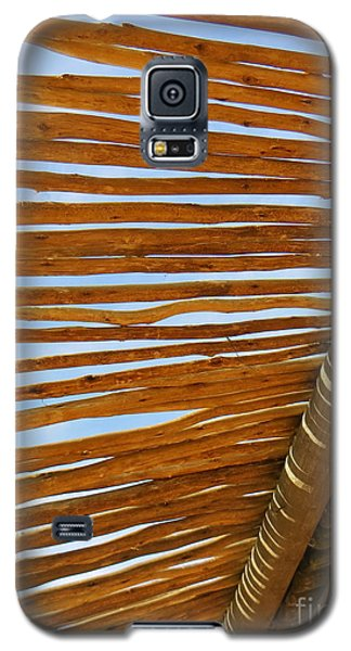 Galaxy S5 Case featuring the photograph Sky-lined  by Joy Hardee