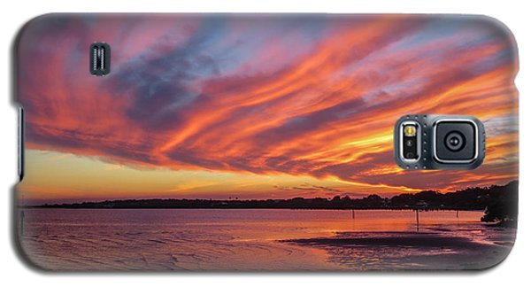 Sky On Fire Galaxy S5 Case