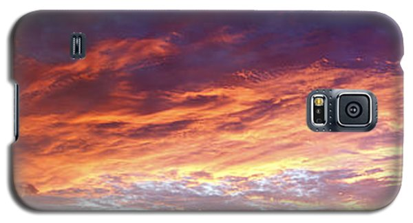Sky On Fire Galaxy S5 Case by Les Cunliffe