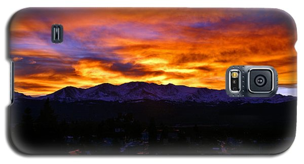 Galaxy S5 Case featuring the photograph Sky Shadows by Jeremy Rhoades