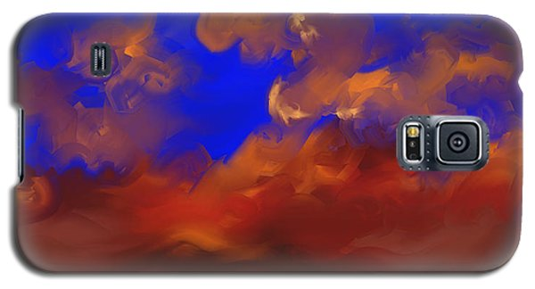 Galaxy S5 Case featuring the painting Sky by Steven Lebron Langston