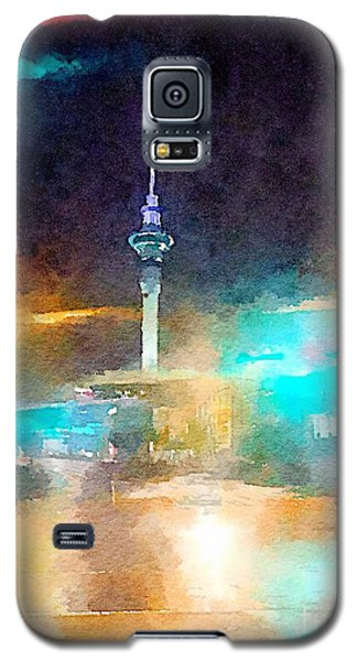 Sky Tower By Night Galaxy S5 Case