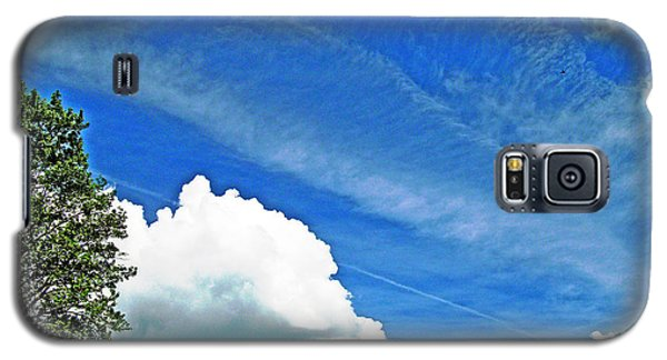 Sky Trails Galaxy S5 Case by Skyler Tipton