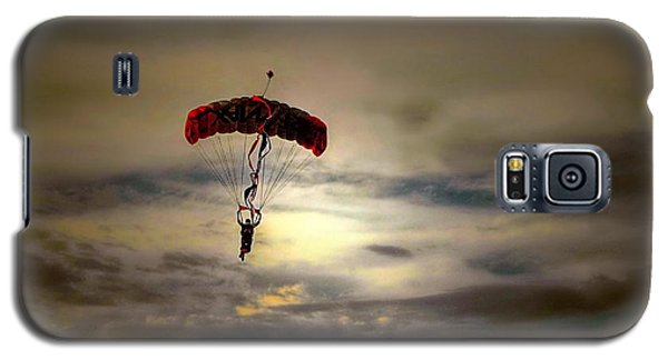 Evening Skydiver Galaxy S5 Case