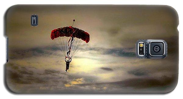 Evening Skydiver Galaxy S5 Case