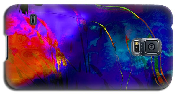 Galaxy S5 Case featuring the digital art Skyfall by Asok Mukhopadhyay