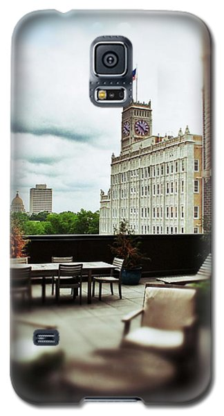 Skyline From Electric Building Galaxy S5 Case