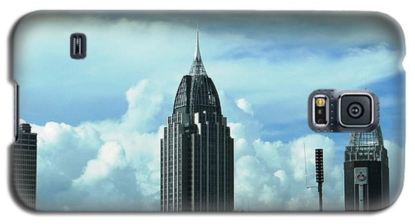 Skyline Over  Mobile Galaxy S5 Case by Ecinja Art Works