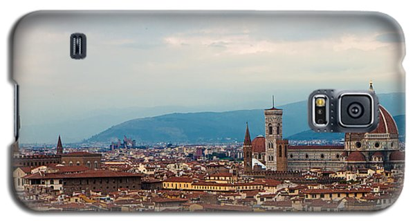 Skyline View Of Florence Italy Galaxy S5 Case