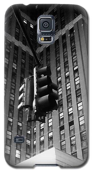 Skyscraper Framed Traffic Light Galaxy S5 Case