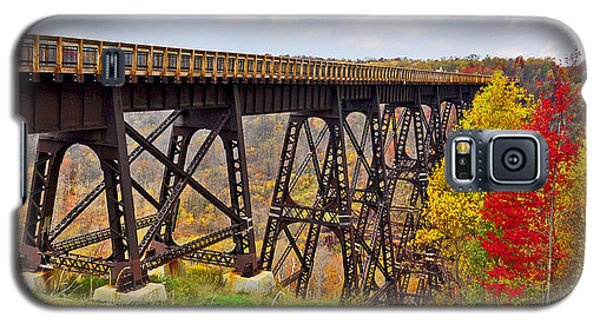 Skywalk Kinzua Bridge State Park Mckean County Pennsylvania Galaxy S5 Case by A Gurmankin