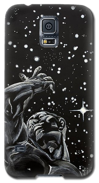Galaxy S5 Case featuring the painting Skyward by Denise Deiloh