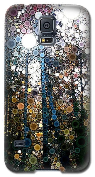 Skyway Forest At Dawn Galaxy S5 Case by Linda Bailey