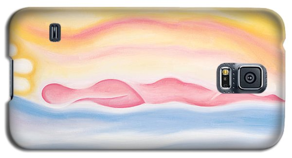 Galaxy S5 Case featuring the painting Sleep All Day by Tiffany Davis-Rustam