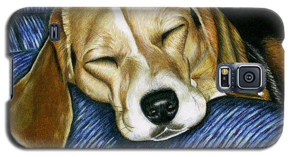 Sleeping Beagle Galaxy S5 Case