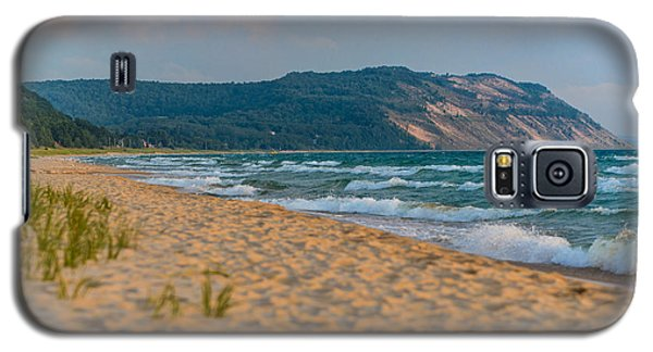 Sleeping Bear Dunes At Sunset Galaxy S5 Case by Sebastian Musial