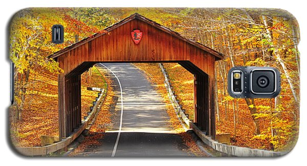 Sleeping Bear National Lakeshore Covered Bridge Galaxy S5 Case