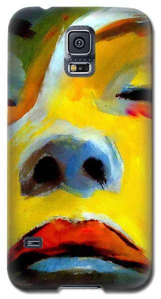 Galaxy S5 Case featuring the painting Sleeping Beauty by Helena Wierzbicki