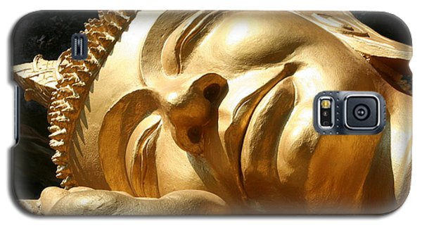Galaxy S5 Case featuring the photograph Sleeping Buddha by Nola Lee Kelsey
