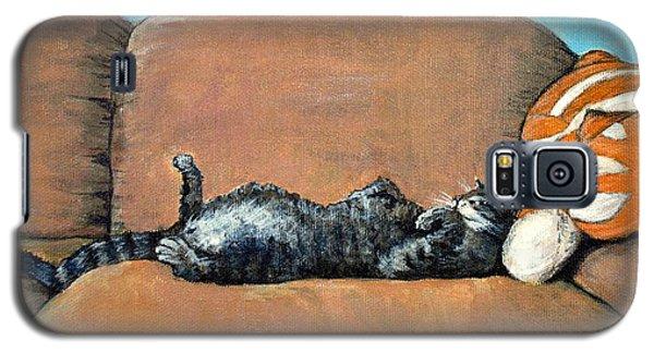 Sleeping Cat Galaxy S5 Case