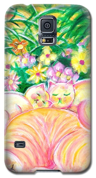 Sleeping Cats Galaxy S5 Case