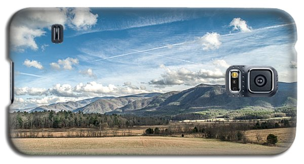 Galaxy S5 Case featuring the photograph Sleeping Giants In Cades Cove by Debbie Green