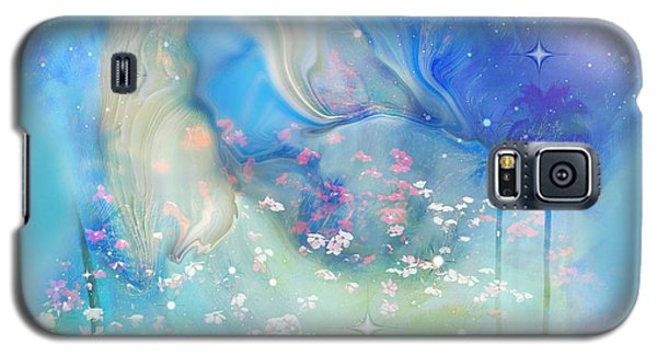 Galaxy S5 Case featuring the painting Sleeping In The Heavens by Sherri  Of Palm Springs