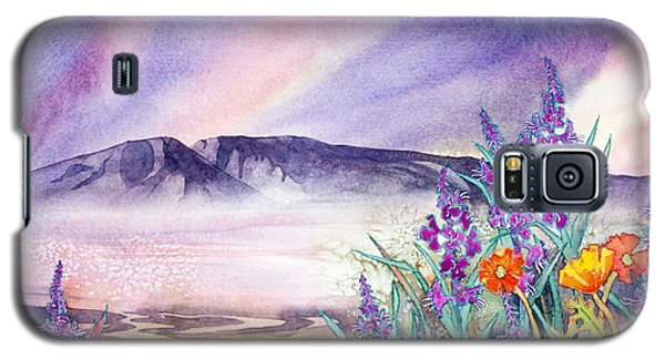 Sleeping Lady Sunset Galaxy S5 Case by Teresa Ascone
