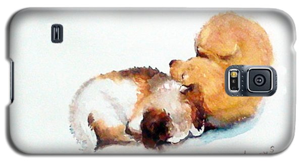 Sleeping Puppies Galaxy S5 Case