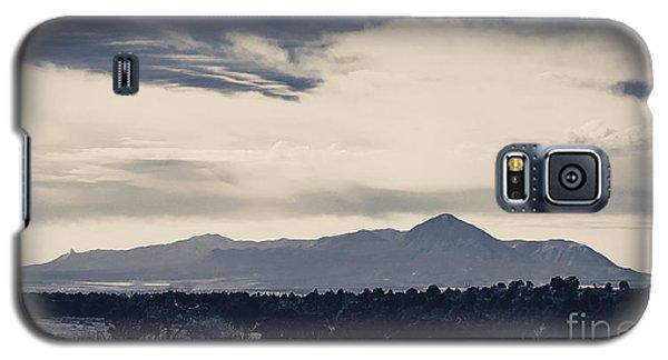 Sleeping Ute Mountain Galaxy S5 Case by Janice Rae Pariza