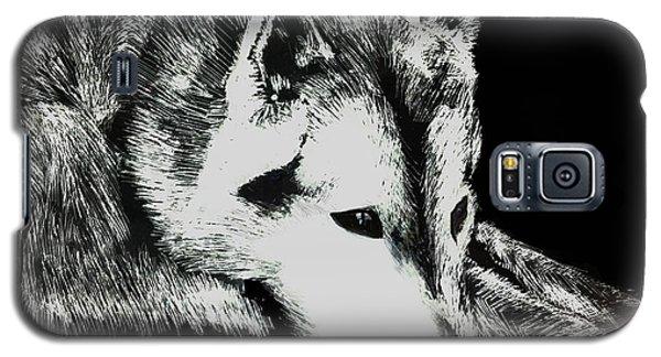 Sleeping Wolf Galaxy S5 Case