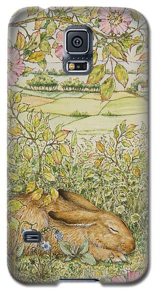 Sleepy Bunny Galaxy S5 Case