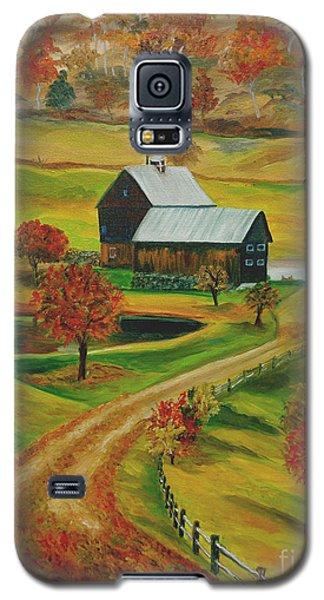 Sleepy Hollow Farm Galaxy S5 Case by Julie Brugh Riffey
