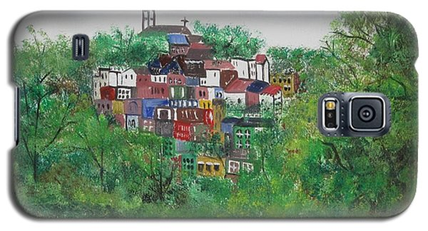 Sleepy Little Village Galaxy S5 Case by Diane Pape