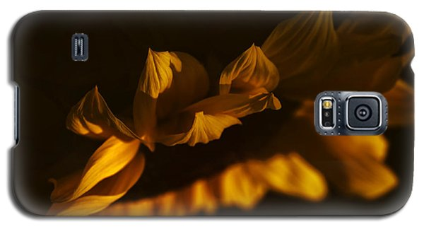 Galaxy S5 Case featuring the photograph Sleepy Sunflower by The Forests Edge Photography - Diane Sandoval