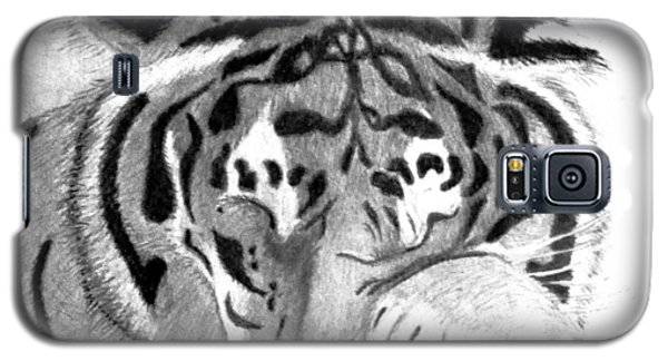Sleepy Tiger Galaxy S5 Case