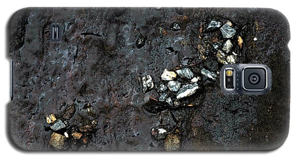 Galaxy S5 Case featuring the photograph Slippery Rock  by Allen Carroll