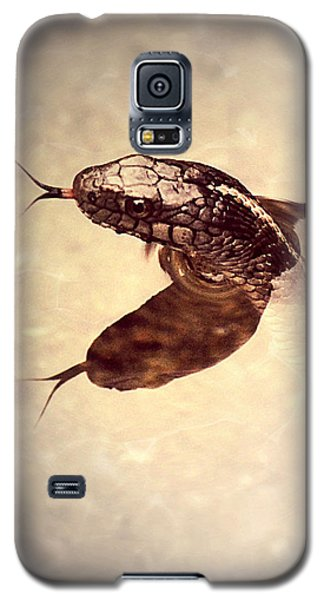 Galaxy S5 Case featuring the photograph Slithering Reflections by Melanie Lankford Photography