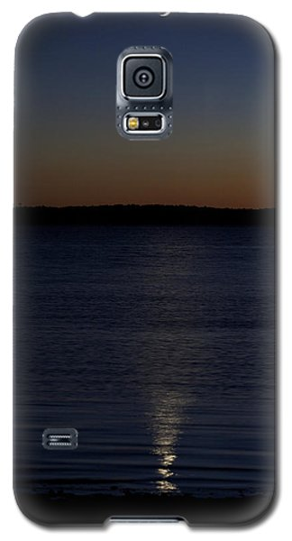 Sliver - A Crescent Moon On The Lake Galaxy S5 Case