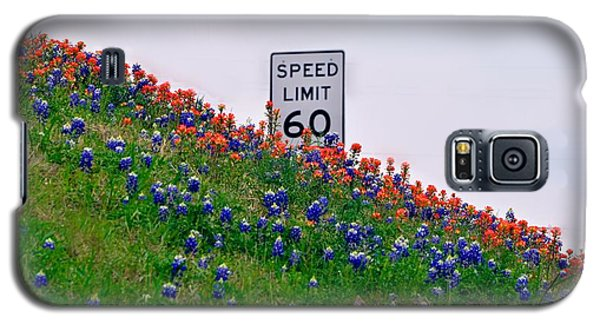 Slow Down And Smell The Bluebonnets Galaxy S5 Case