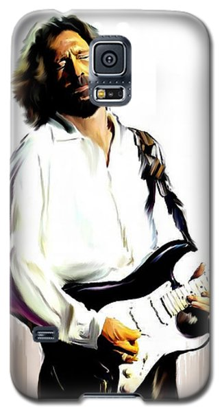Slow Hand  Eric Clapton Galaxy S5 Case
