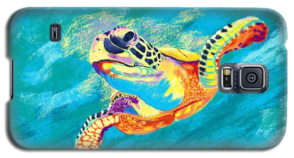 Reptiles Galaxy S5 Case - Slow Ride by Kevin Putman
