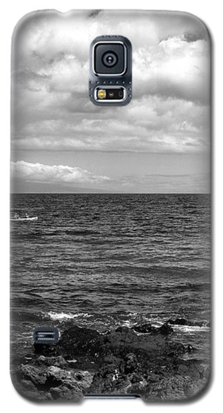 Small Boat On A Big Ocean Galaxy S5 Case