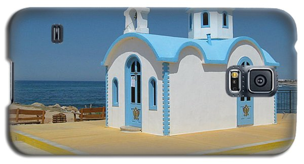 Small Crete Church Galaxy S5 Case