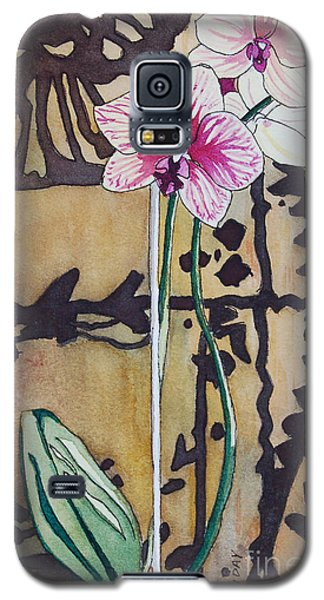 Small Orchids Galaxy S5 Case