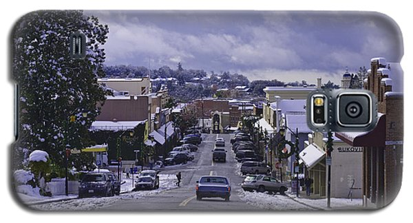 Galaxy S5 Case featuring the photograph Small Town America by Sherri Meyer